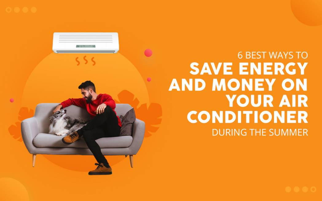 how to save energy for ac